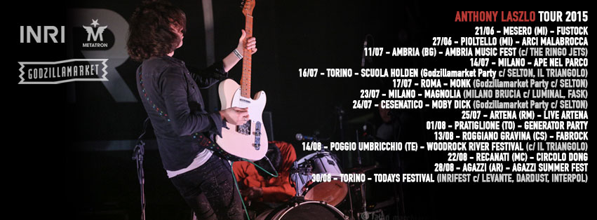 anthony laszlo tour