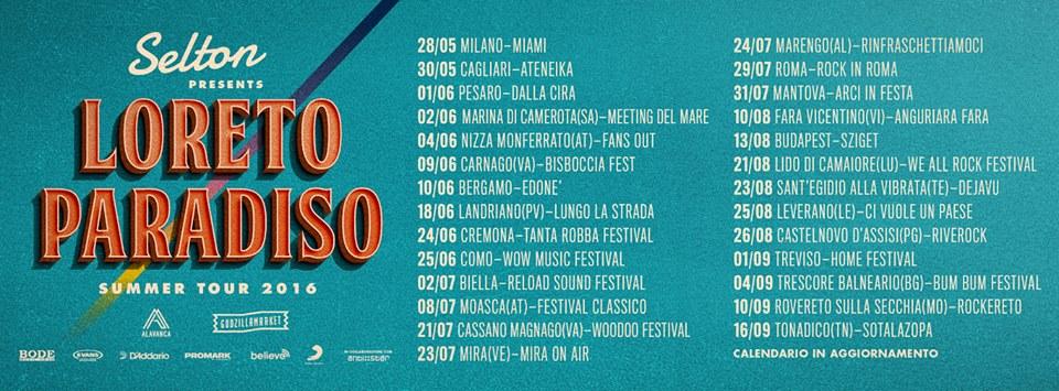 selton-loreto paradiso summer tour